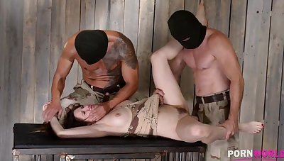 XXXtreme BDSM humiliation makes subby Samantha Bentley scream & cream GP908