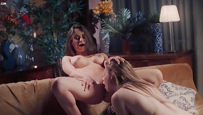 Nasty Lana Roy Impel with her Diffident GF Hot and Sweety Roleplay