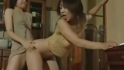 Japanese Lesbian lick