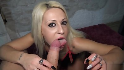 Very Myller-smokes and receives 2 big internal cumshots