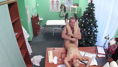 Marvelous hidden cam scenes with one slutty patient