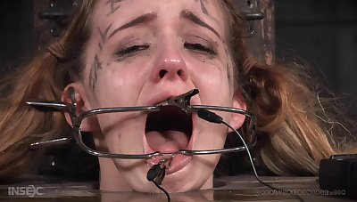 Nasty video of a dirty tot Jessica Kay getting rough tortured