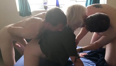 JULIET'S VERY FIRST DOUBLE PENETRATION - team a few FOUNTAINS, On all sides of FUCK HOLES