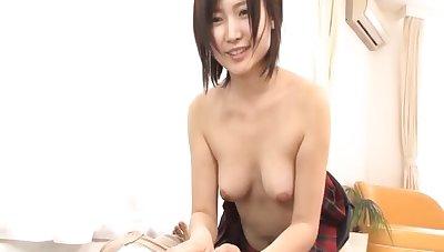 Desirable abstruse Shiori Tachibana sucks his Hawkshaw and rides